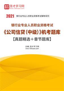 2020年下半年银行业专业人员职业资格考试《公司信贷(中级)》题库【历年真题+章节题库】